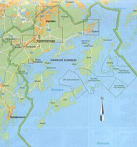 haninge karta Haninge haninge karta